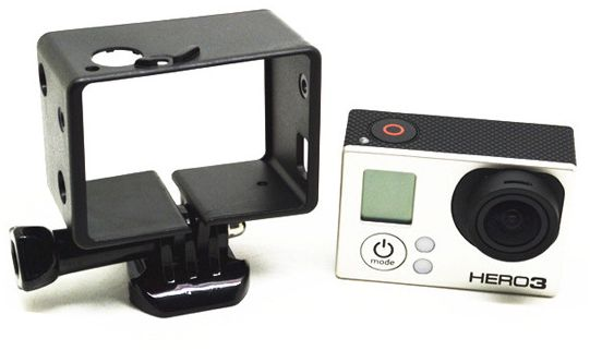 Frame Mount Housing w/o button for GoPro Hero 3 3 Plus Camera