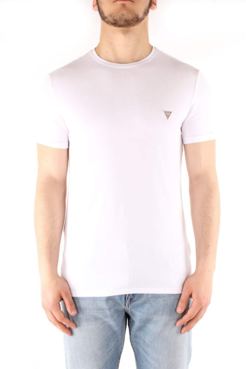 Guess T-Shirt for Men , Size S ,White