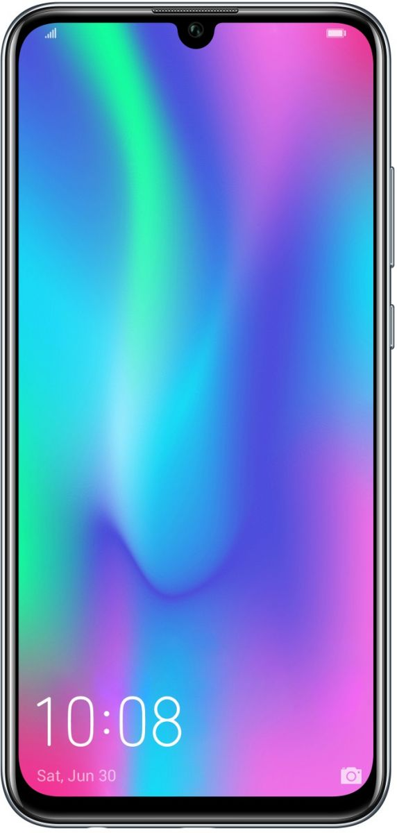 Honor 10 Lite Dual Sim - 64 GB, 3 GB Ram, 4G LTE, Midnight Black