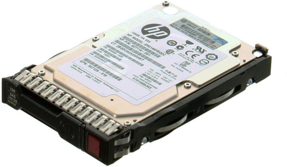 HP 146GB 2.5 inch SAS 6G 15K Enterprise Hot-Plug Hard Drive G8 G9