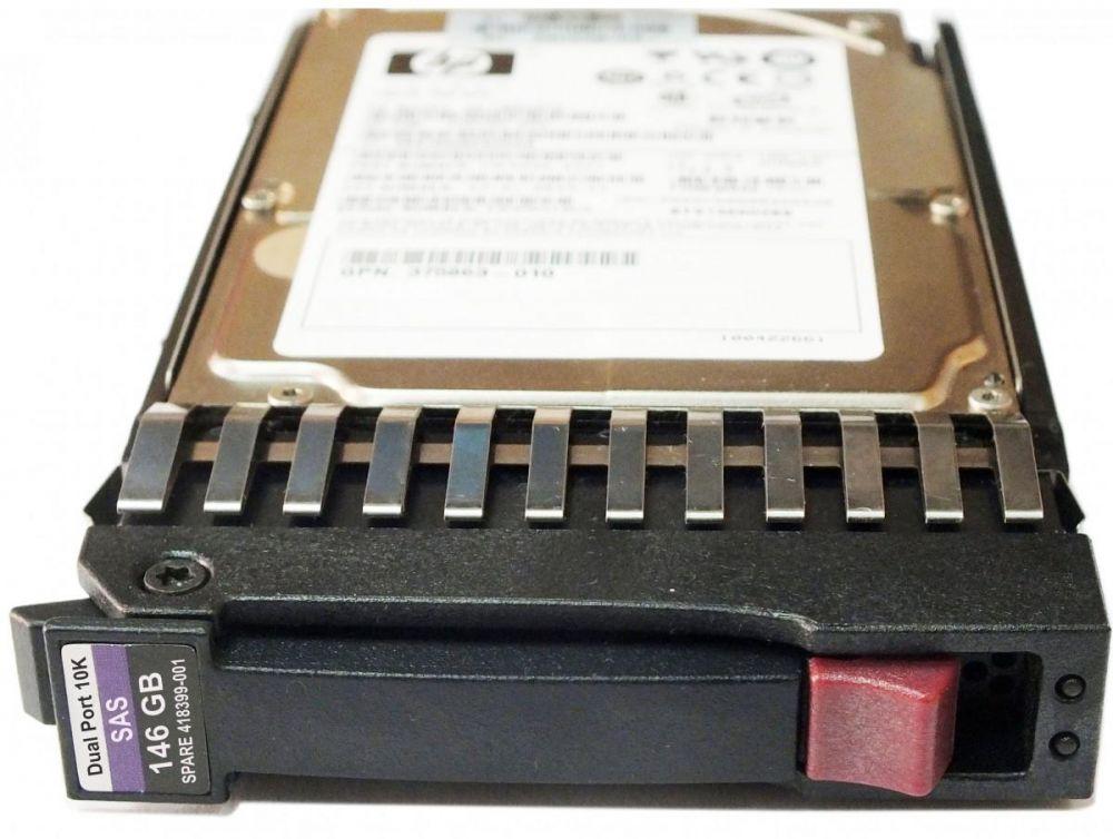 """HP - 418367-B21 146GB 2.5"""""""" SFF 3G Dual Port SAS 10K RPM Hot Plug Hard Drive"""