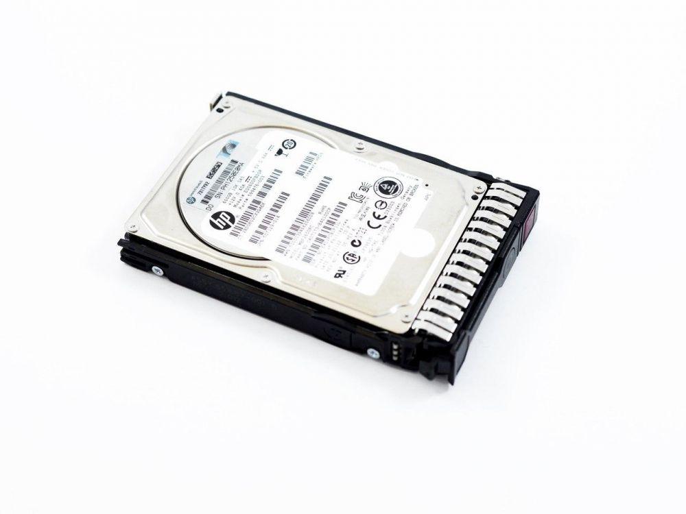 HP 600GB 2.5Inch SFF 6G DP SAS 10K Hot Plug Hard Drive for G5 G6 G7 servers