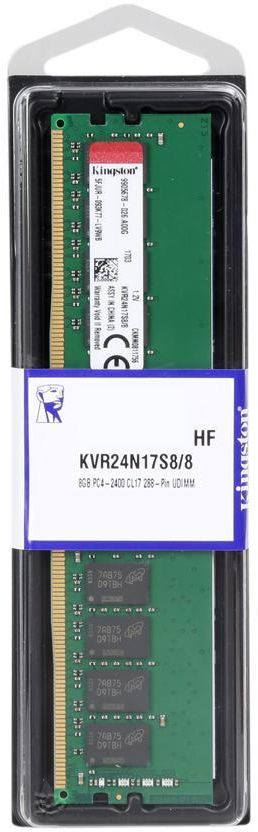 KINGSTON 8GB DDR4 PC4-2400MHz, RAM FOR PC