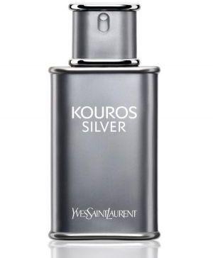 Kouros Silver by Yves Saint Laurent for Men - Eau de Toilette, 100ml