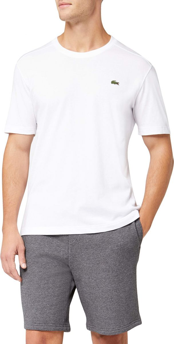 Lacoste Top for Men, White - L