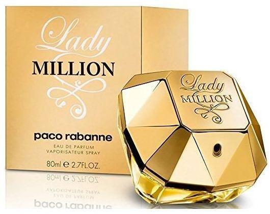 Lady Million by Paco Rabanne for Women - Eau de Parfum, 80ml