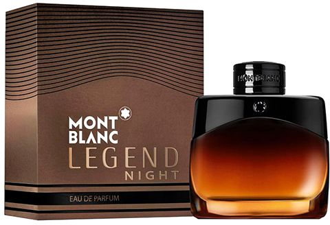 Legend Night by Mont Blanc for Men - Eau de Parfum, 50ml