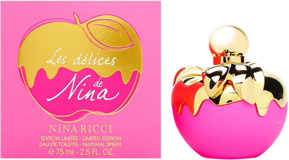 Les Delices de Nina by Nina Ricci Limited Edition Eau de Toilette for Women 75ml