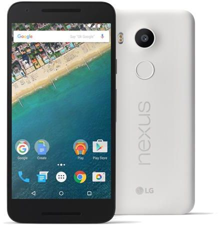 LG Nexus 5X - 32GB, 2GB RAM, 4G LTE, WiFi, Quartz White