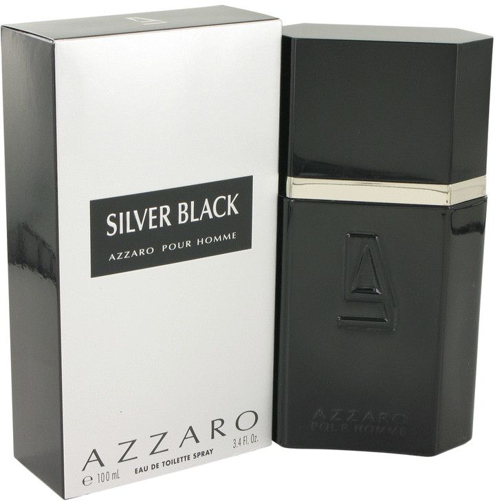 Loris Azzaro Silver Black For Men 100ml - Eau de Toilette