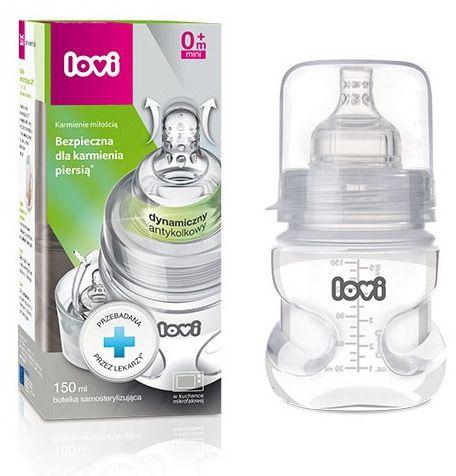 Lovi Self Sterilizing Bottle - 150 ml, 21/572