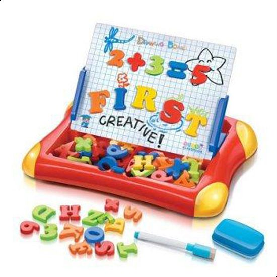 Magnetic Drawing Board Case 2 in 1 Write N Draw ABC Plus 123