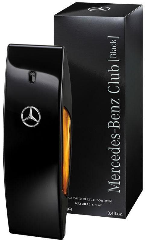 Mercedes Benz CLUB BLACK For Men 100ml - Eau de Toilette