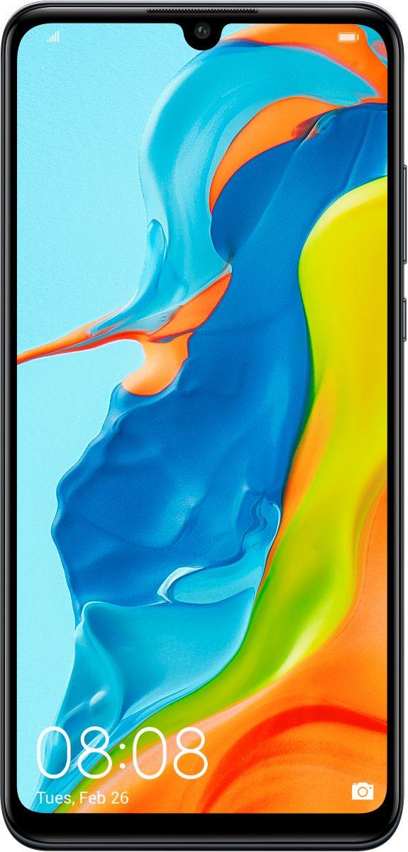 هواوي P30 لايت اصدار جديد بشريحتي اتصال - 128 جيجا، 6 جيجا رام، الجيل الرابع ال تي اي، اسود