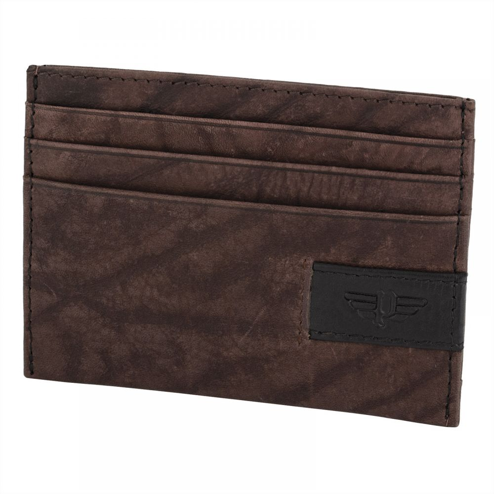 Police Ltr Card & ID Case For men - Brown