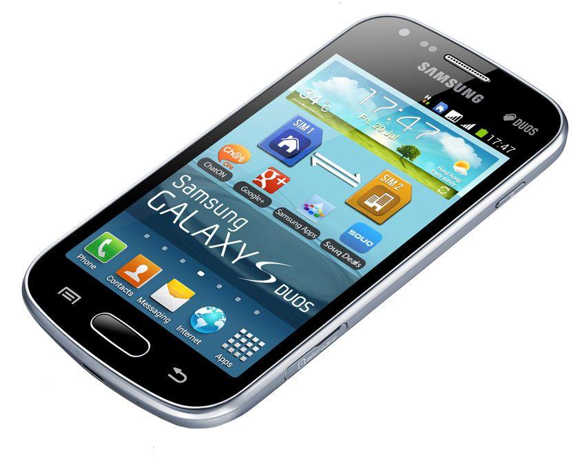 Samsung Galaxy S Duos GT-S7562 - 4GB, 3G + Wifi, Black