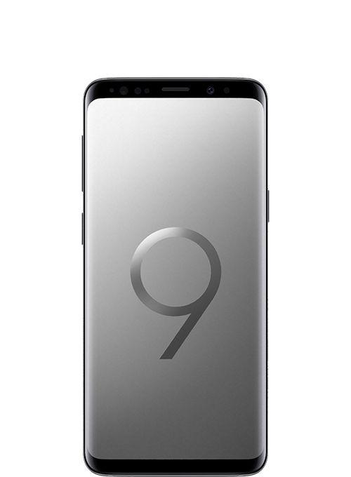Samsung Galaxy S9 Dual Sim - 128 GB, 4 GB Ram, 4G LTE, Titanium Grey - Middle East Version, Sm-G960Fzagksa