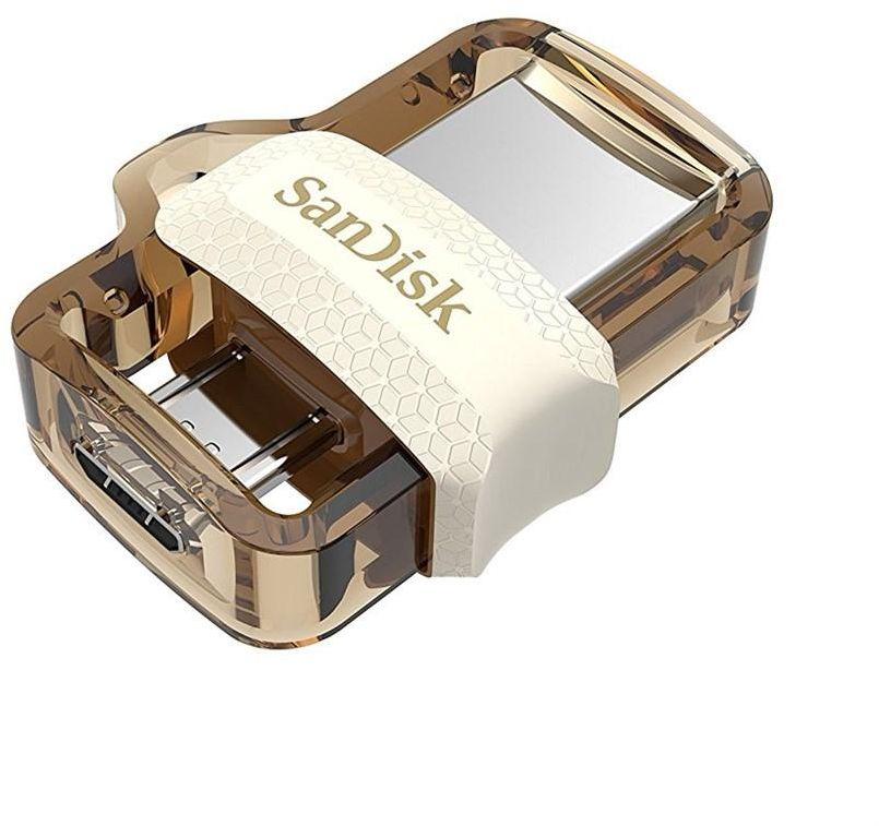 SANDISK ULTRA DUAL DRIVE M3.0 - 64GB Gold Edition (SDDD3-064G-G46GW)