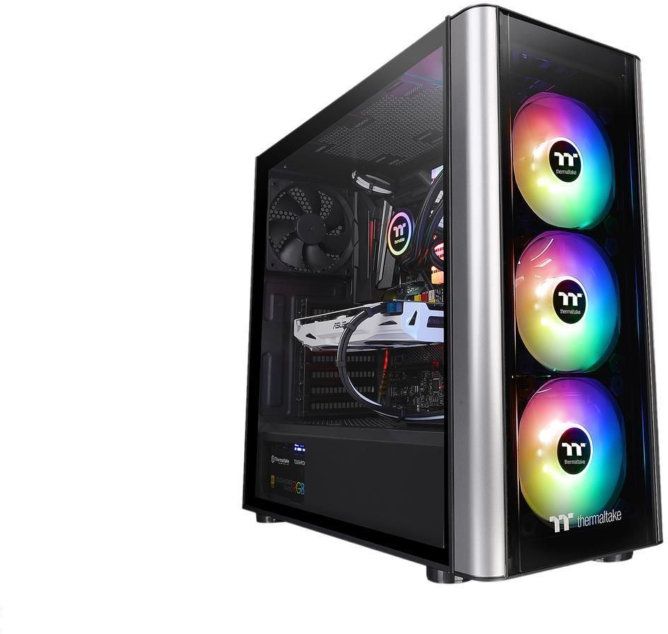 Thermaltake Level 20 MT ARGB Tempered Glass Mid Tower Computer Case | CA-1M7-00M1WN-00