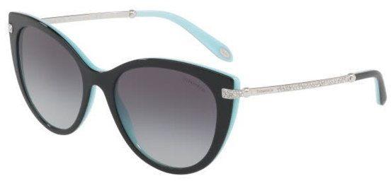 Tiffany & Co Cat Eye Sunglasses for Women - Grey, 4143B, 55, 8055, 3C