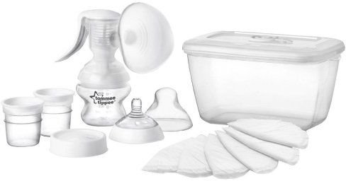Tommee Tippee TT42341481 Closer To Nature Manual Breast Pump