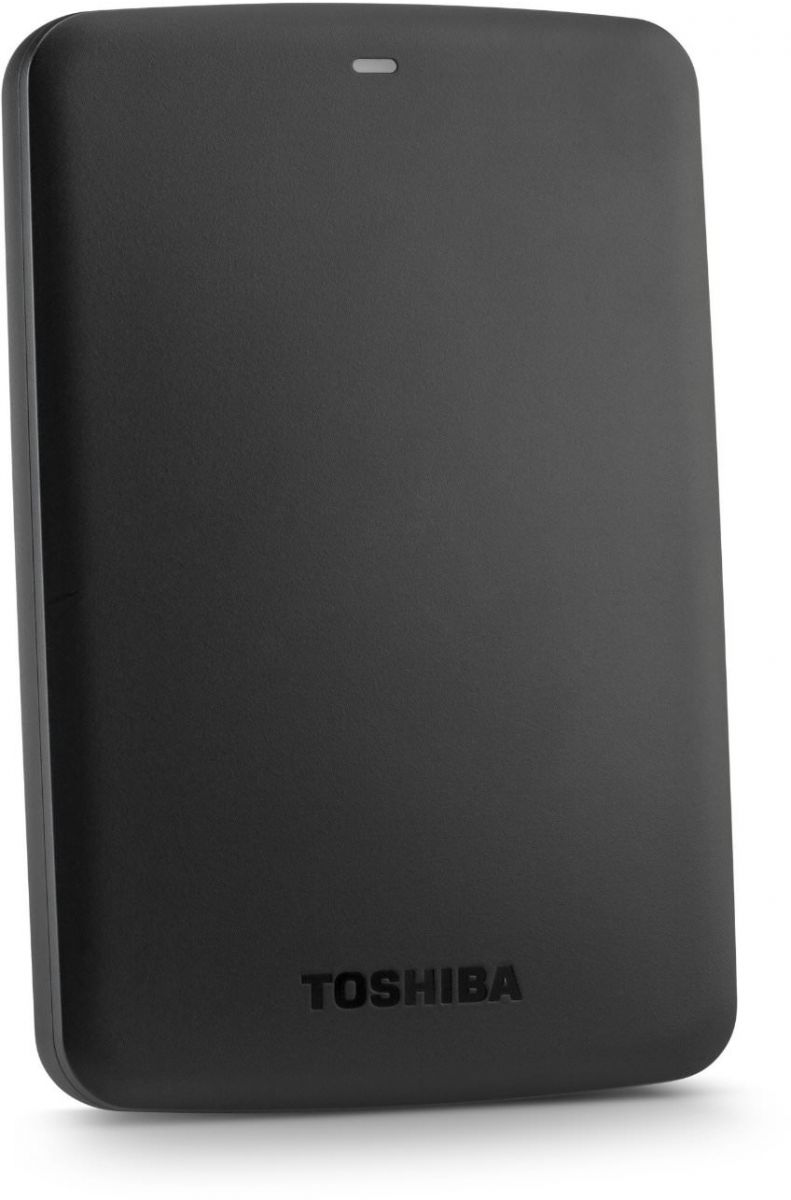Toshiba 500GB Canvio Basics Portable USB3.0 Hard Drive Black -HDTB305EK3AA