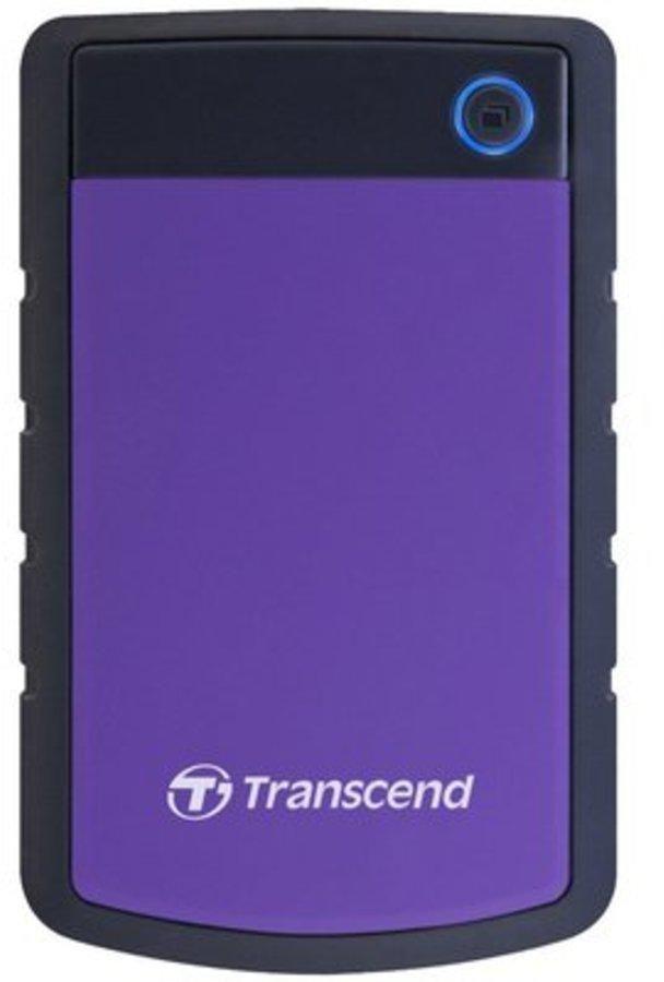 Transcend 2 TB External Hard Disk - TS2TSJ25H3P
