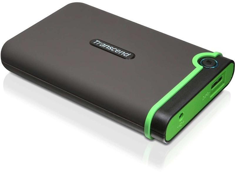 Transcend StoreJet 1 TB USB 3.0 External Hard Drive (TS1TSJ25M3)