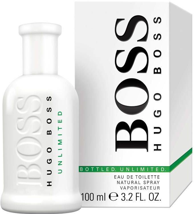 Unlimited By Hugo Boss For Men - Eau De Toilette , 100 ml