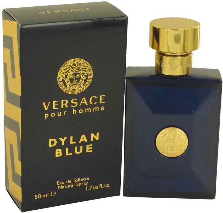 Versace Pour Homme Dylan Blue by Versace for Men - Eau de Toilette, 50ml