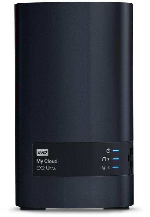 WD 16TB My Cloud EX2 Ultra Network Attached Storage - NAS - WDBVBZ0160JCH