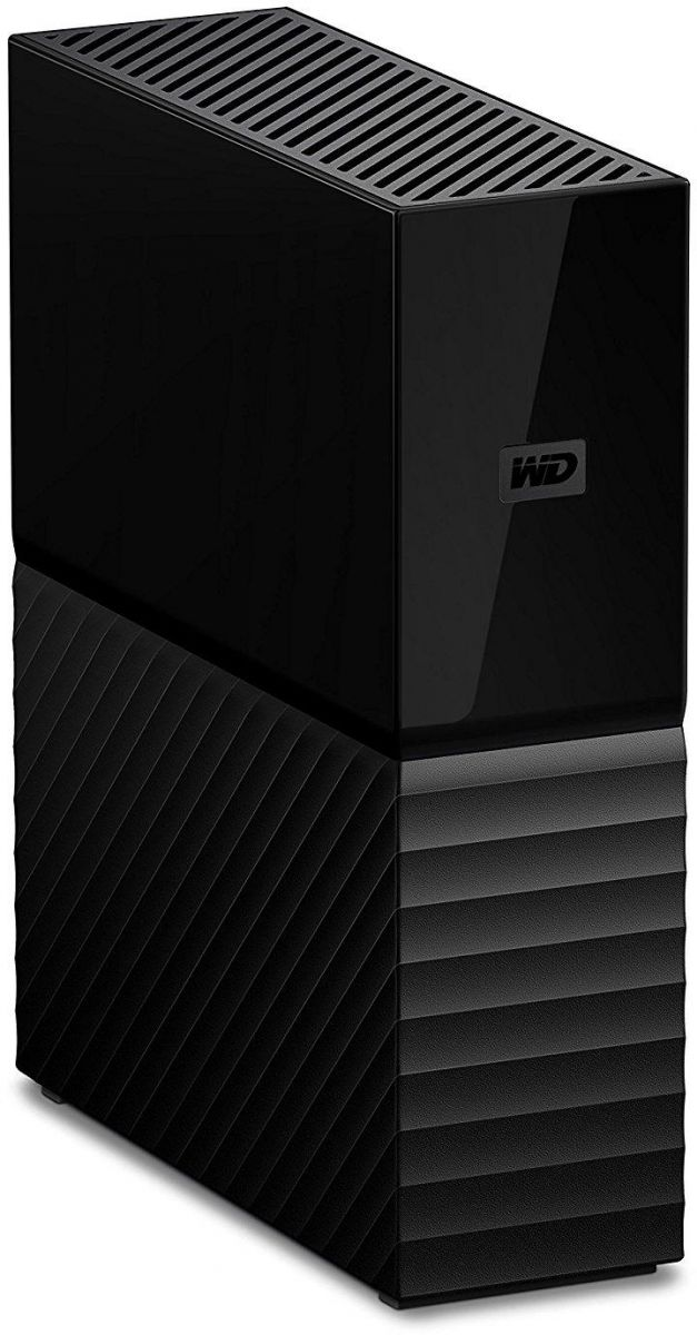 WD 6TB My Book Desktop External Hard Drive USB 3.0 - WDBBGB0060HBK