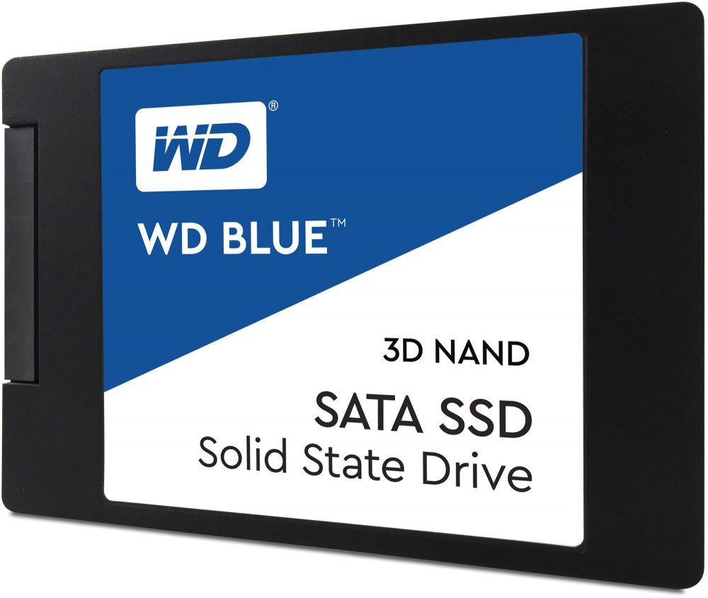 WD Blue 500GB 3D NAND SATA III 6Gb-s 2.5 Inch Inch 7mm Internal SSD - WDS500G2B0A