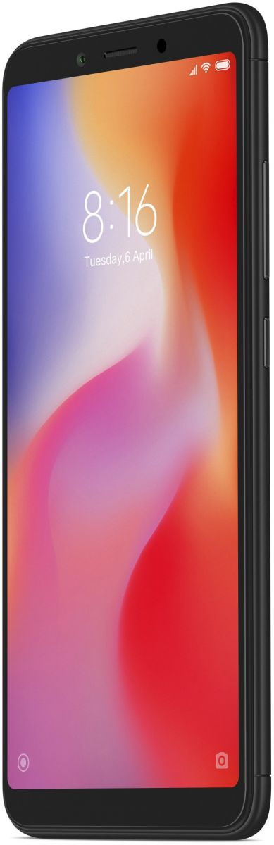 Xiaomi Redmi 6 Dual SIM - 64GB, 4GB RAM, 4G LTE, Black - International Version