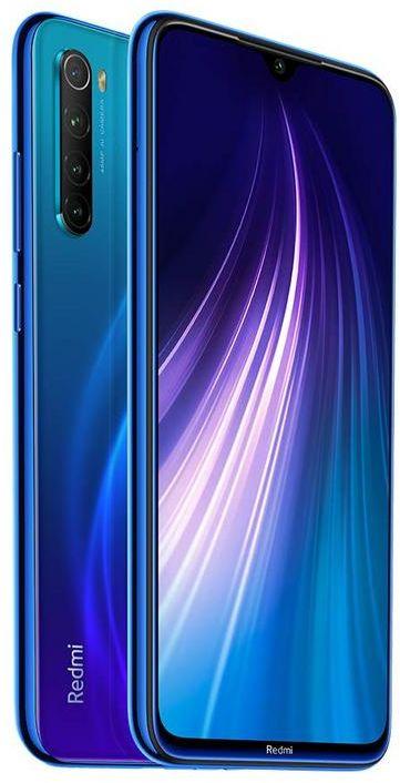 Xiaomi Redmi Note 8 Dual SIM - 32GB, 3GB RAM, 4G LTE, Neptune Blue