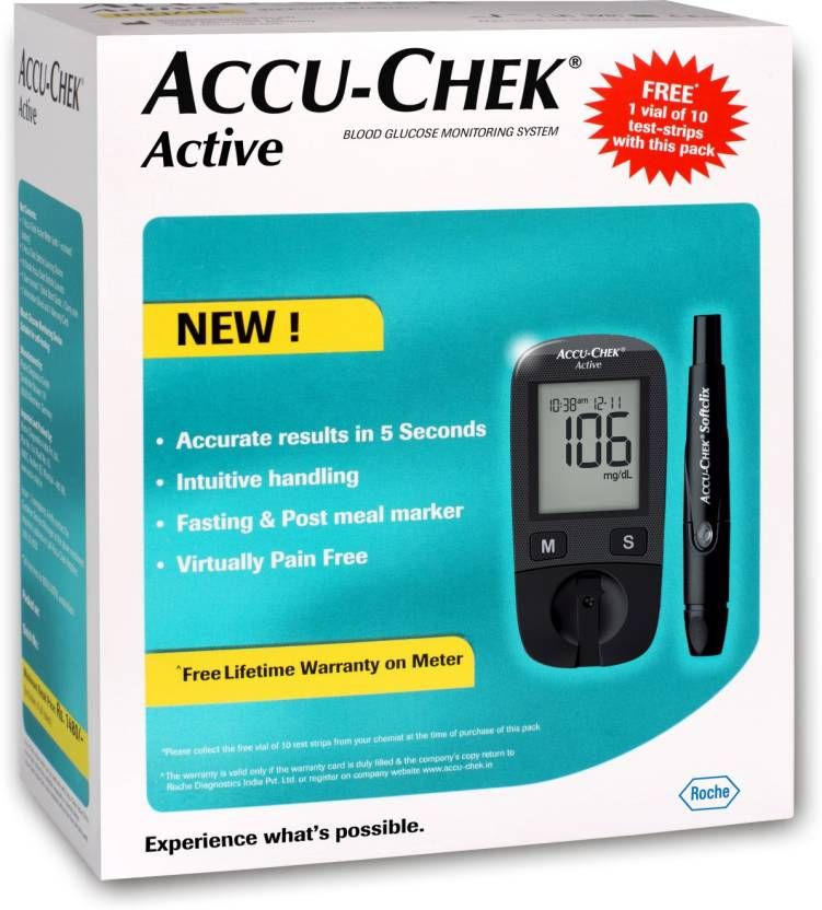 ACCU CHEK Active Blood Sugar Monitor