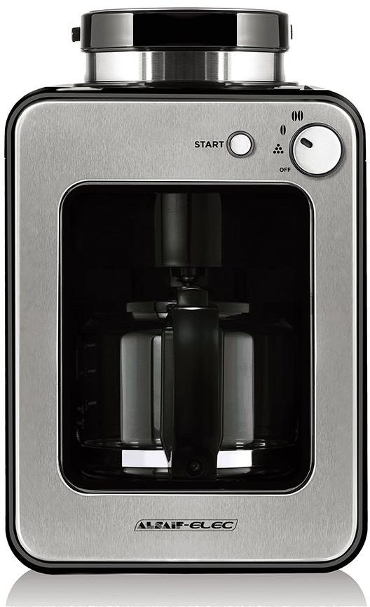 AlSaif Coffee Maker with integrated Grinder - 600W