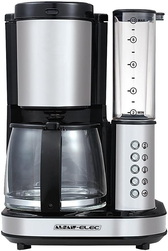 AlSaif Elec Coffee Maker with integrated Grinder - 800W