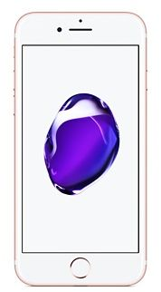 Apple iPhone 7 without FaceTime - 32GB, 4G LTE, Rose Gold