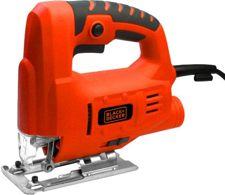 Black and Decker Single Speed Compact Jigsaw, 400 W , Red , Js10-b5
