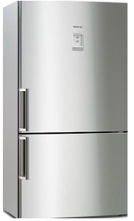 Bosch Fridge Bottom Freezer XL , 24.09 CU FT - Silver , KGN86AI40B