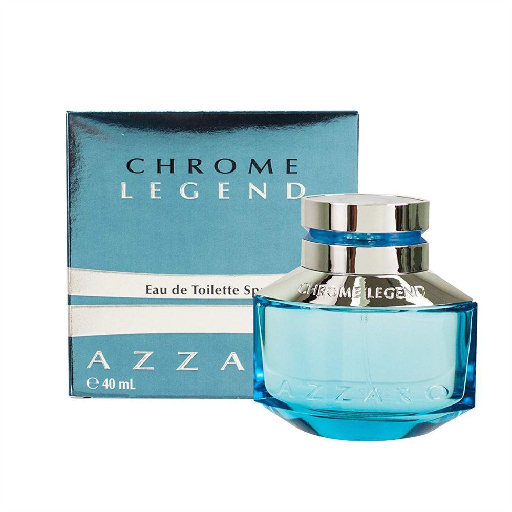 Chrome Legend by Azzaro for Men - Eau de Toilette, 40ml
