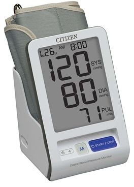 Citizen CH-456 Digital Blood Pressure Monitor