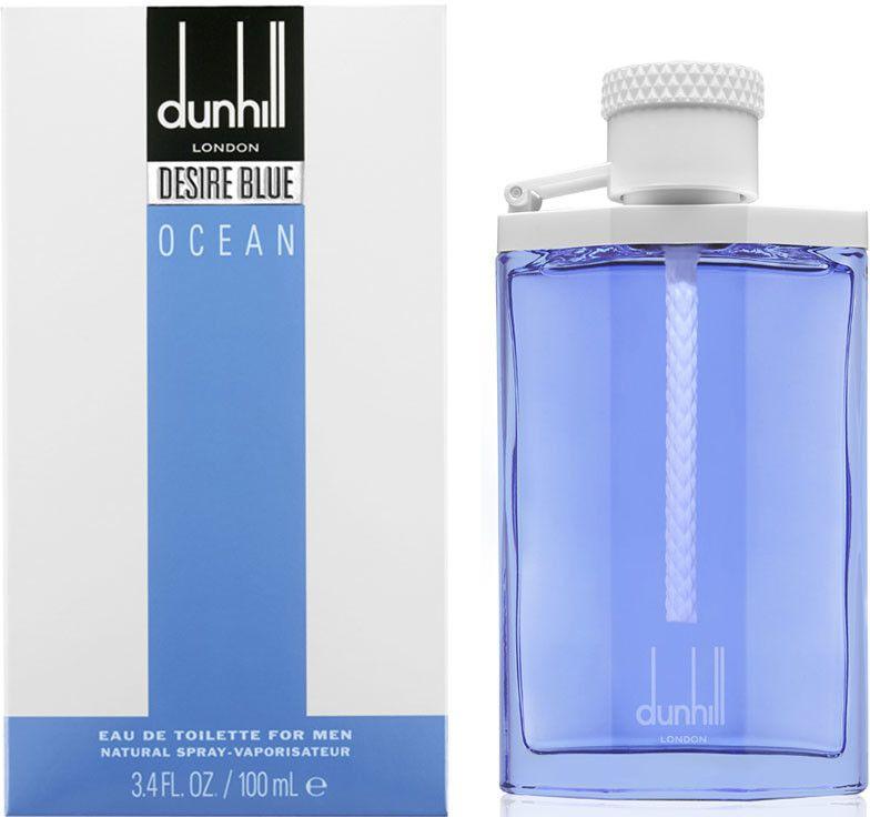 Dunhill Desire Blue Ocean Eau De Toilette Spray for Men, 100 ml