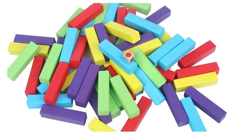 Early learning building blocks stacker game