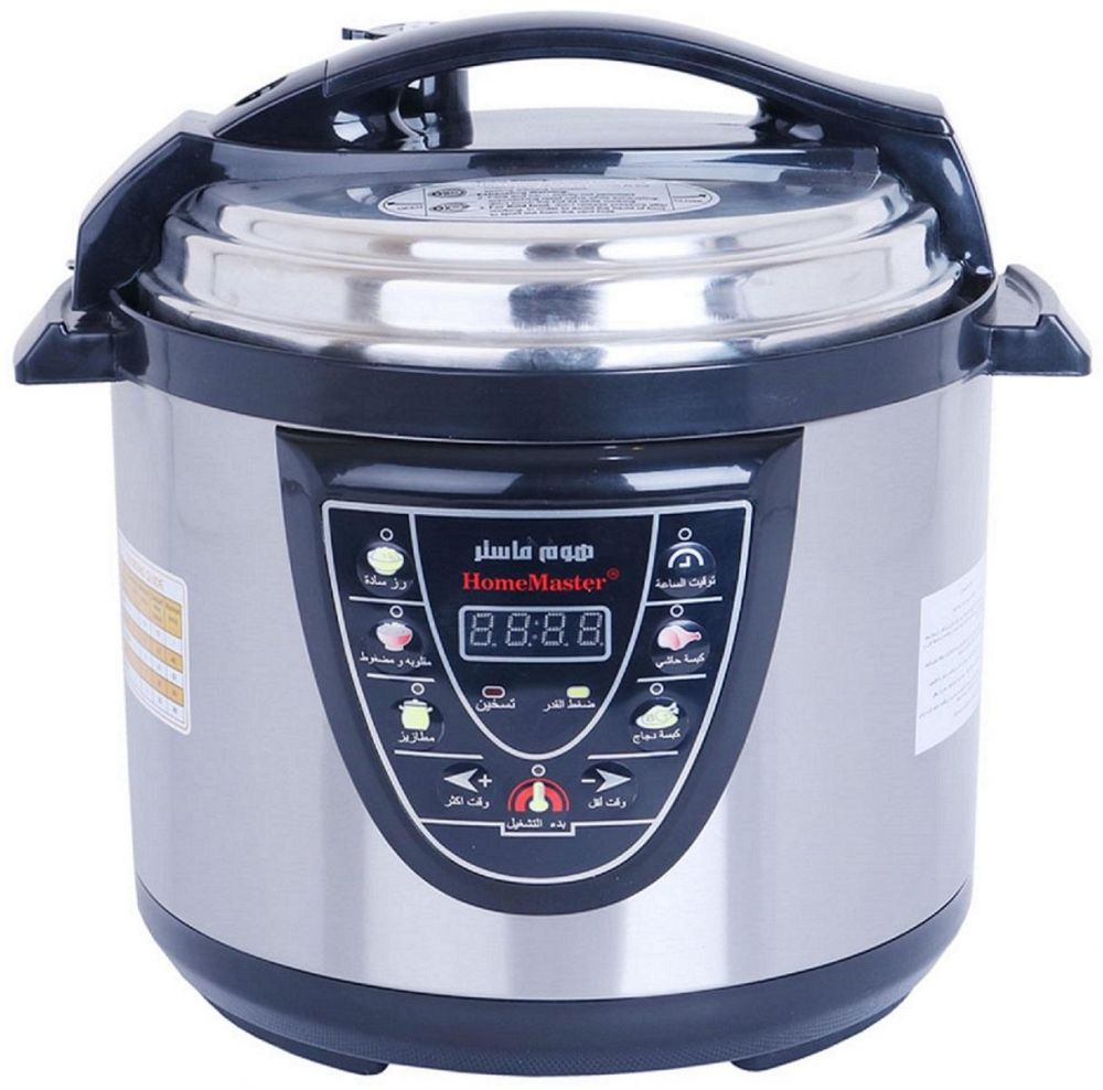 Electric Pressure Cooker 6 Liter - Home Master, Multi Color, Mixed Material