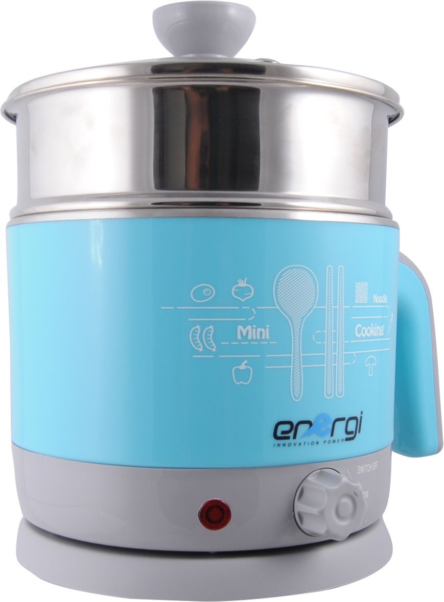 Energi Steamer Pots for cook 1.2 Liter , Blue