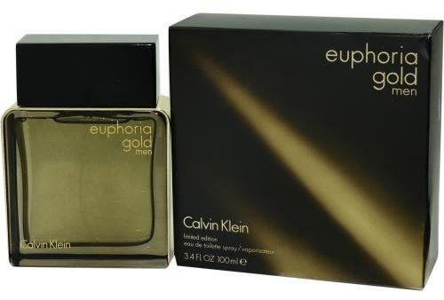 Euphoria Gold by Calvin Klein for Men - Eau de Toilette, 100ml