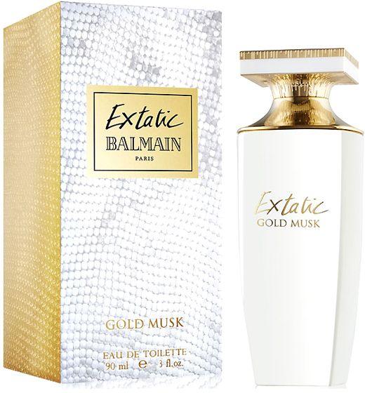 Extatic Gold Musk by Balmain Unisex Perfume - Eau de Toilette, 90ml