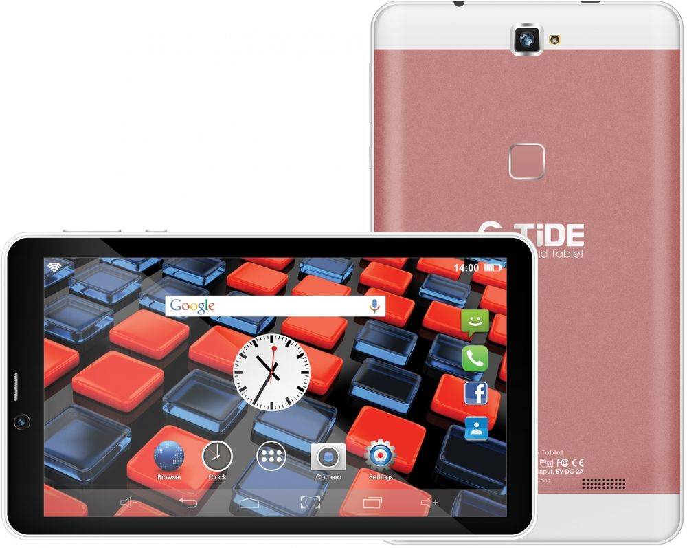 G-Tide G25i Tablet , 7 Inch touch Screen , 16GB , Dual SIM , 3G , Rose Gold